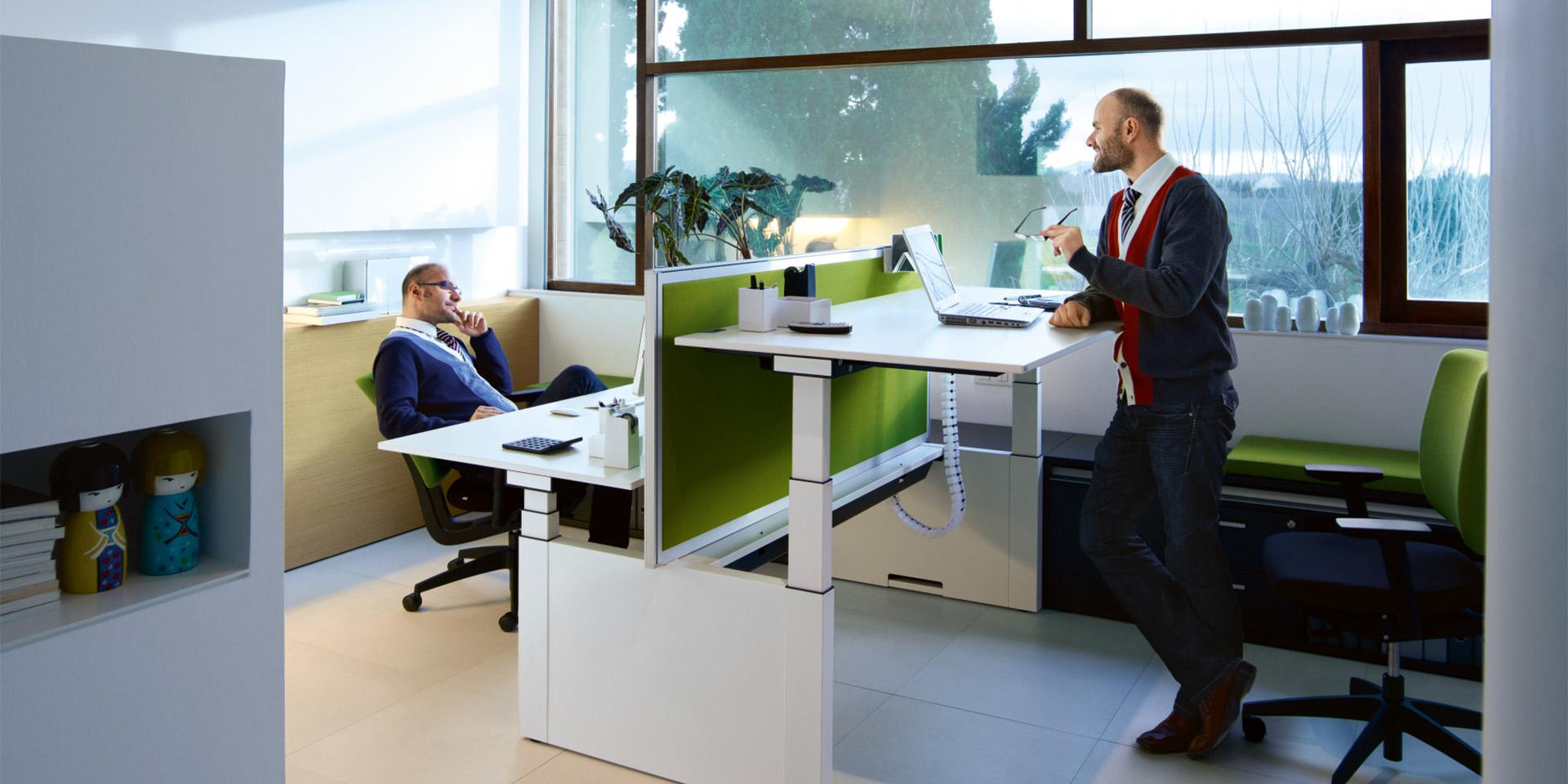 Tischsystem temptation twin von Sedus   Büromöbel in Stuttgart